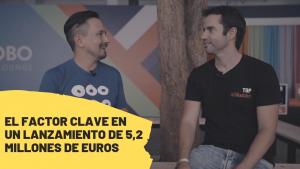 El factor clave en un lanzamiento de 5,2 millones de dólares.  Entrevista a Sebastián Mencía.